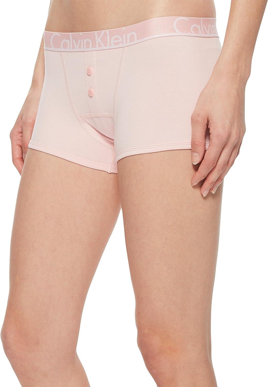 7abd4154f7e Calvin Klein Women s Id Cotton Large Waistband Trunk Panty at Amazon  Women s Clothing store