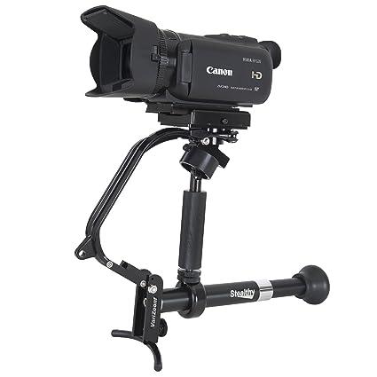 amazon com varizoom stealthy for dslr camera black tripods