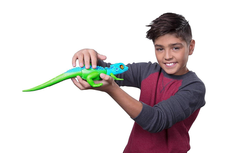 Zuru Robo Alive Robotic Lizard Toy Pet (Blue)
