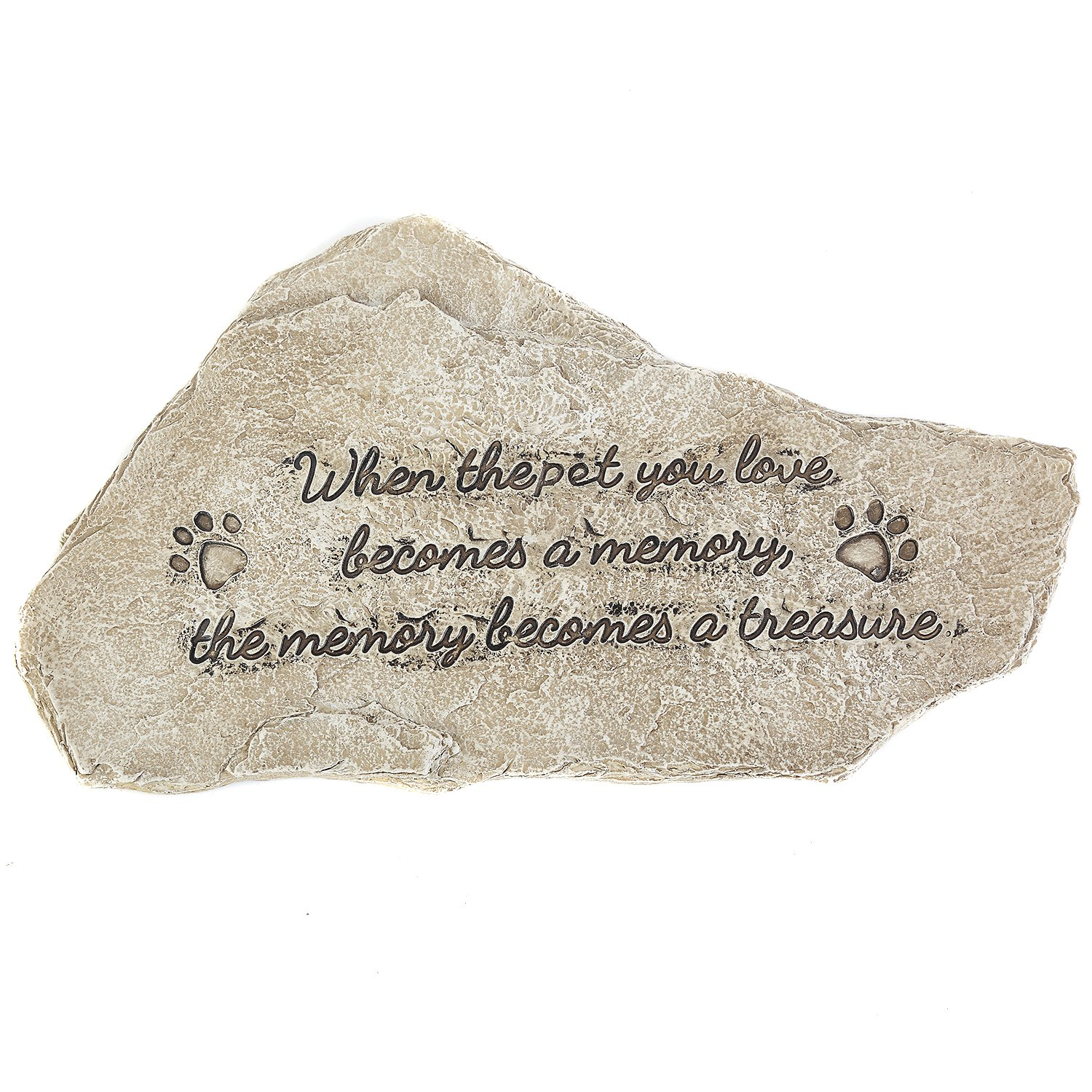CEDAR HOME Memorial Garden Stepping Stones When the Pet You Love Become Memory and the Memory Becomes a Treasure