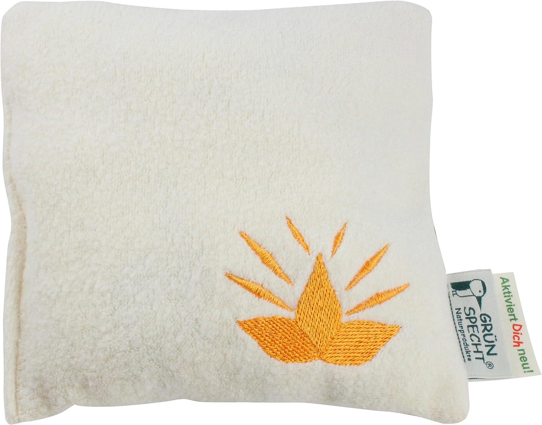 Grünspecht 602-V1 almohadas de hierbas orgánicas, Activar nuevos usted, 19 x 19 cm