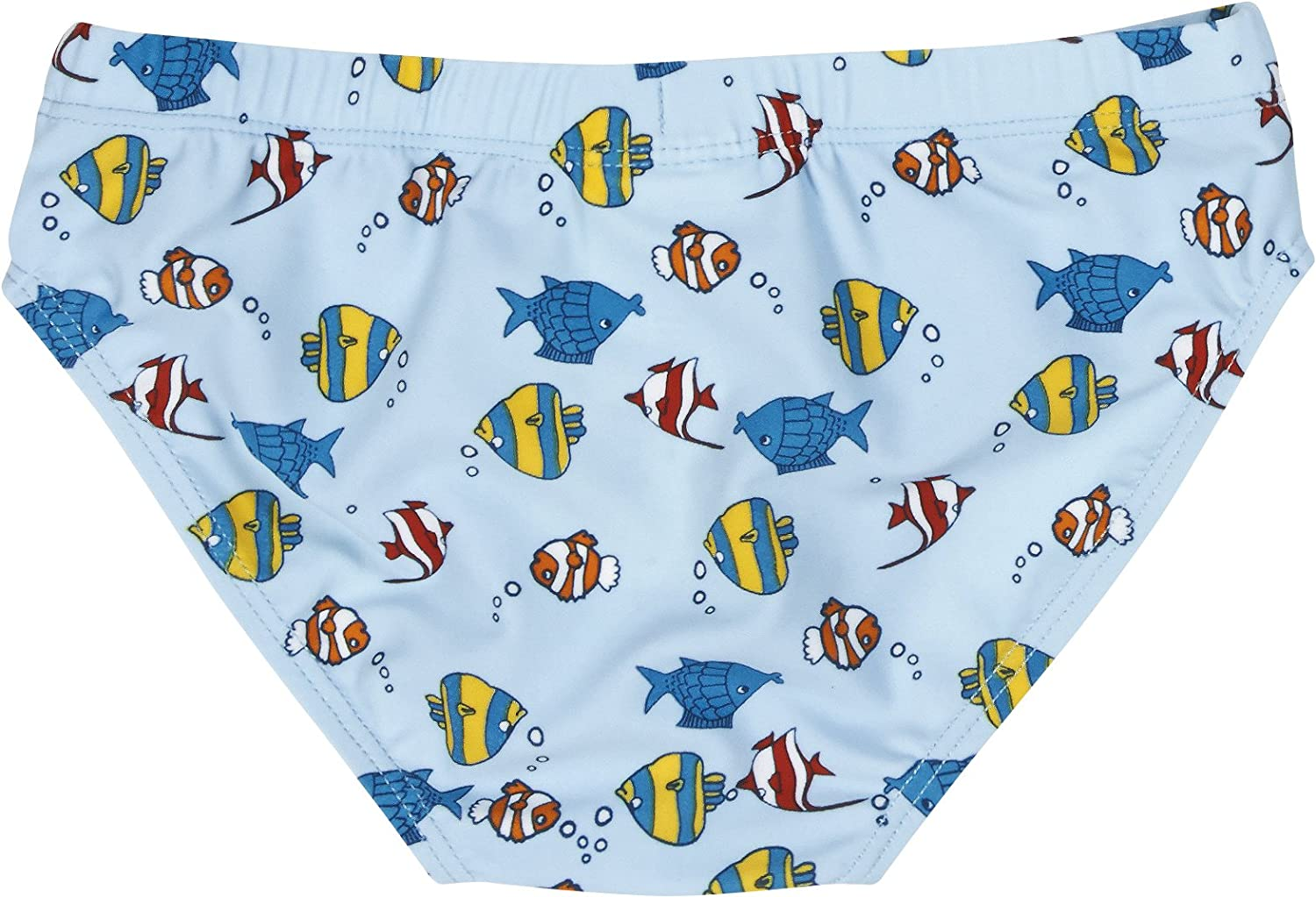 Playshoes Boys UV Sun Protection Swimming Fish Trunks