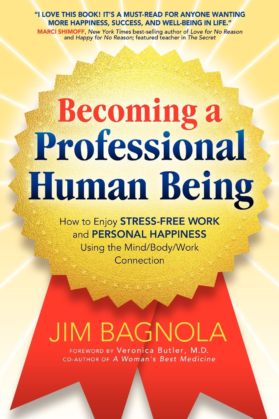 becoming a professional human being how to enjoy stress work becoming a professional human being how to enjoy stress work and personal happiness using the mind body work connection jim bagnola 9780985196400