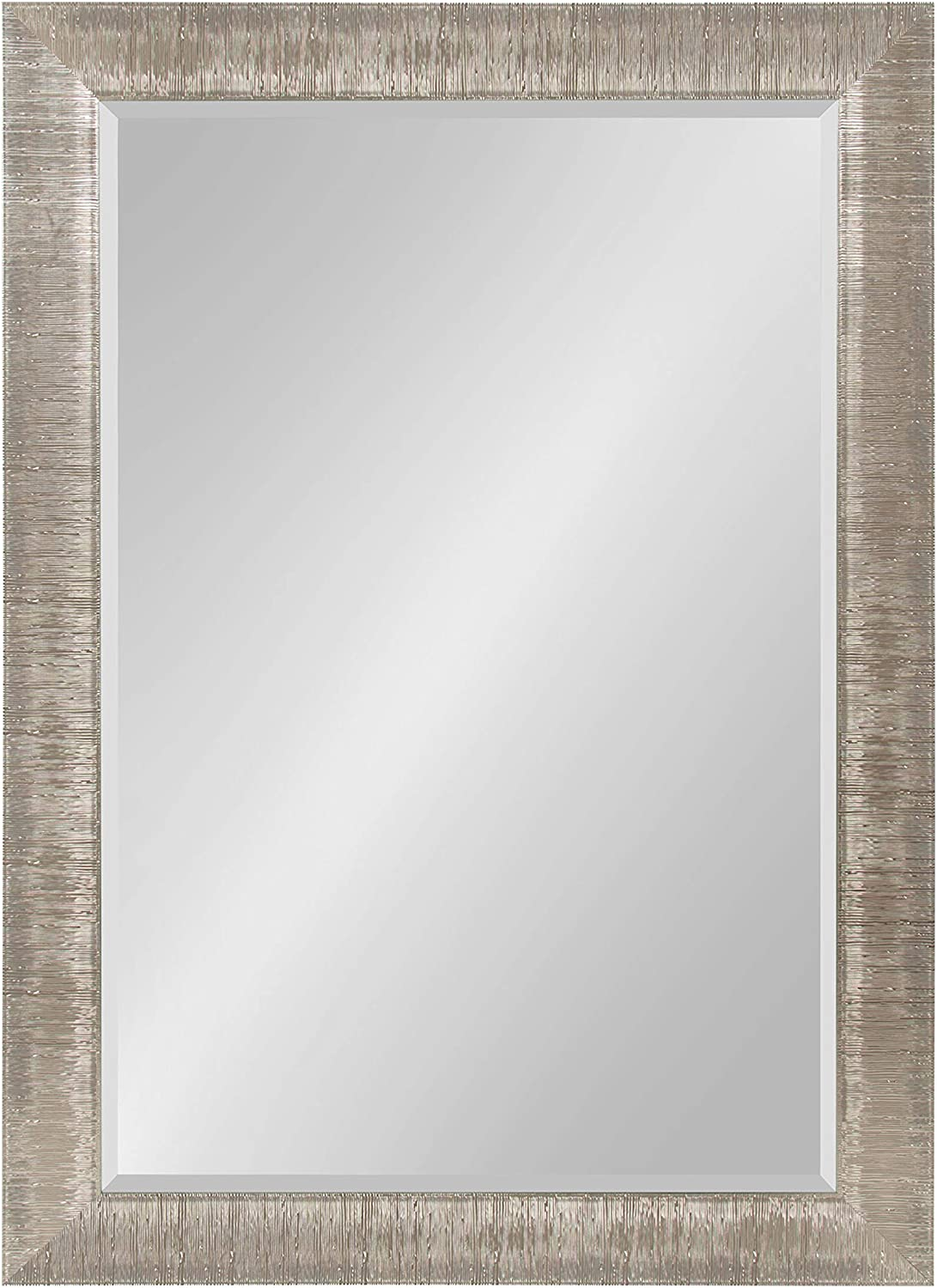 Kate and Laurel Reyna Framed Wall Mirror, 29.75x41.75, Silver