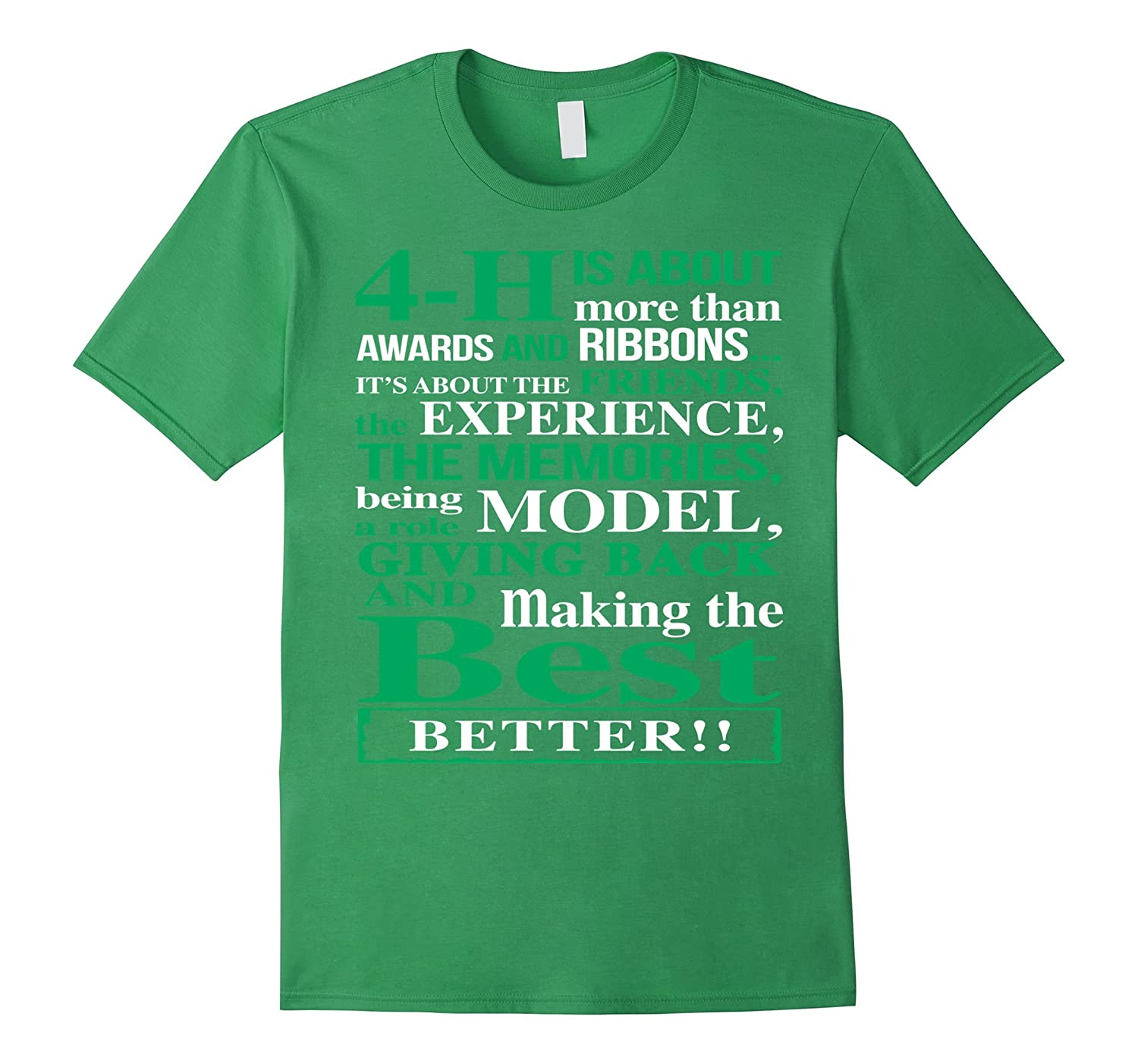 4h is about more than awards and ribbons Tshirt-TH