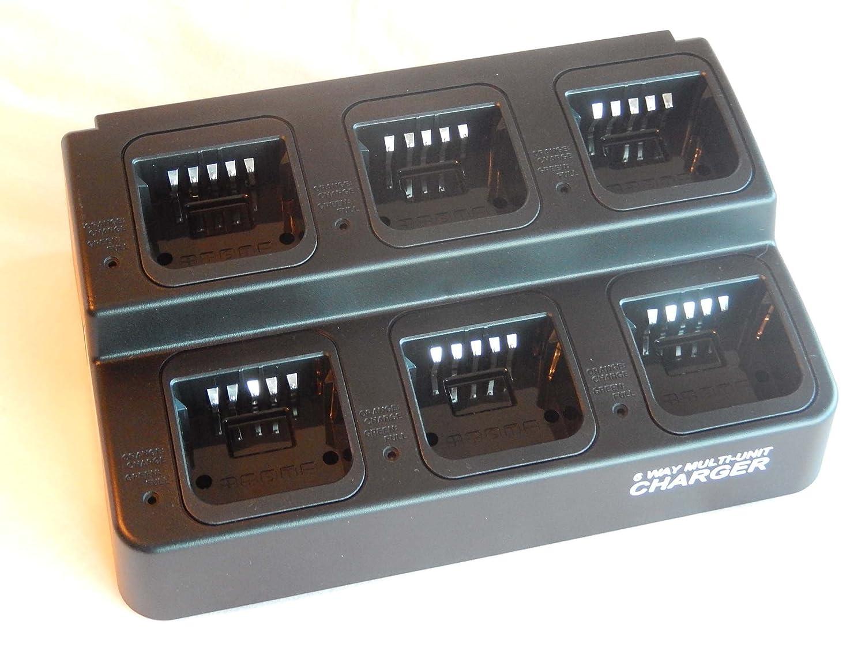 vhbw 220V Cargador Cable de Carga para batería de Aparato de Radio, walkie-Talkie Motorola HNN4001, HNN4003, HNN9008, HNN9009, HNN9013A, ...