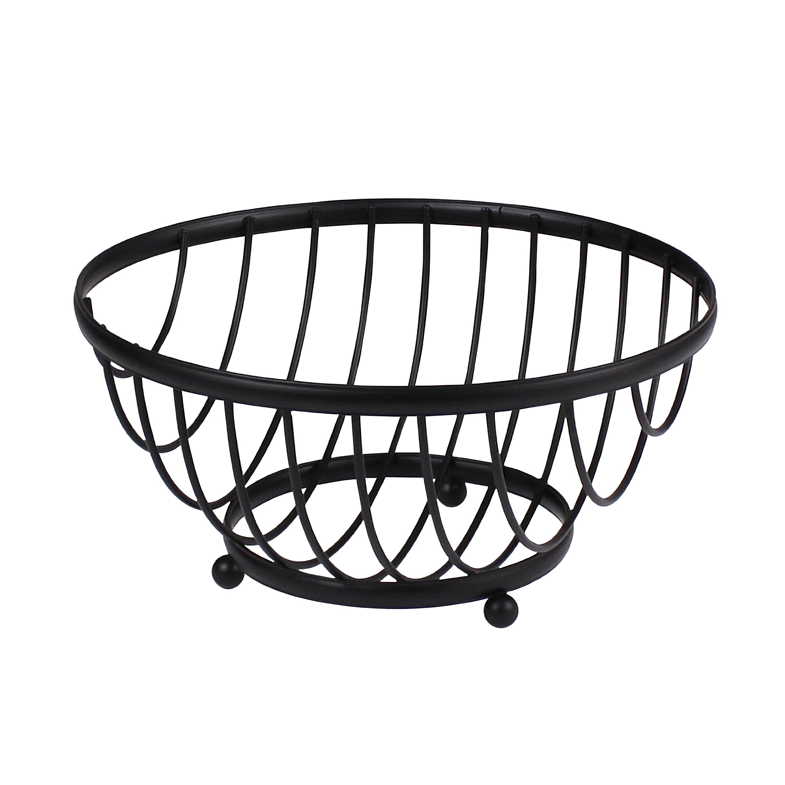 Spectrum Diversified Ashley Fruit Bowl, Black