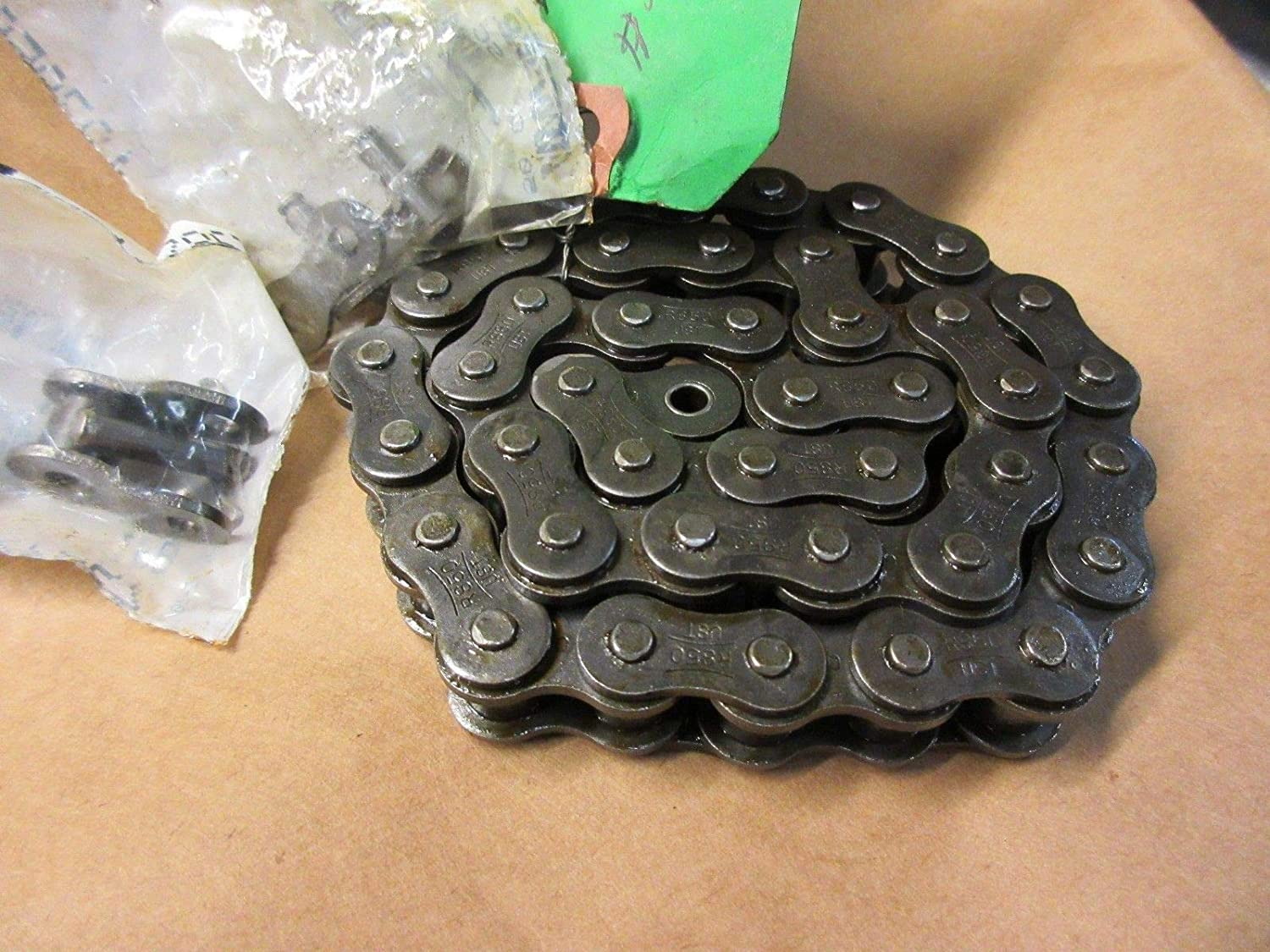 2.1 Ft 5//8 Pitch 3//8 single row Roller Chain NEW 101-1423 M.I.C INDUSTRIES