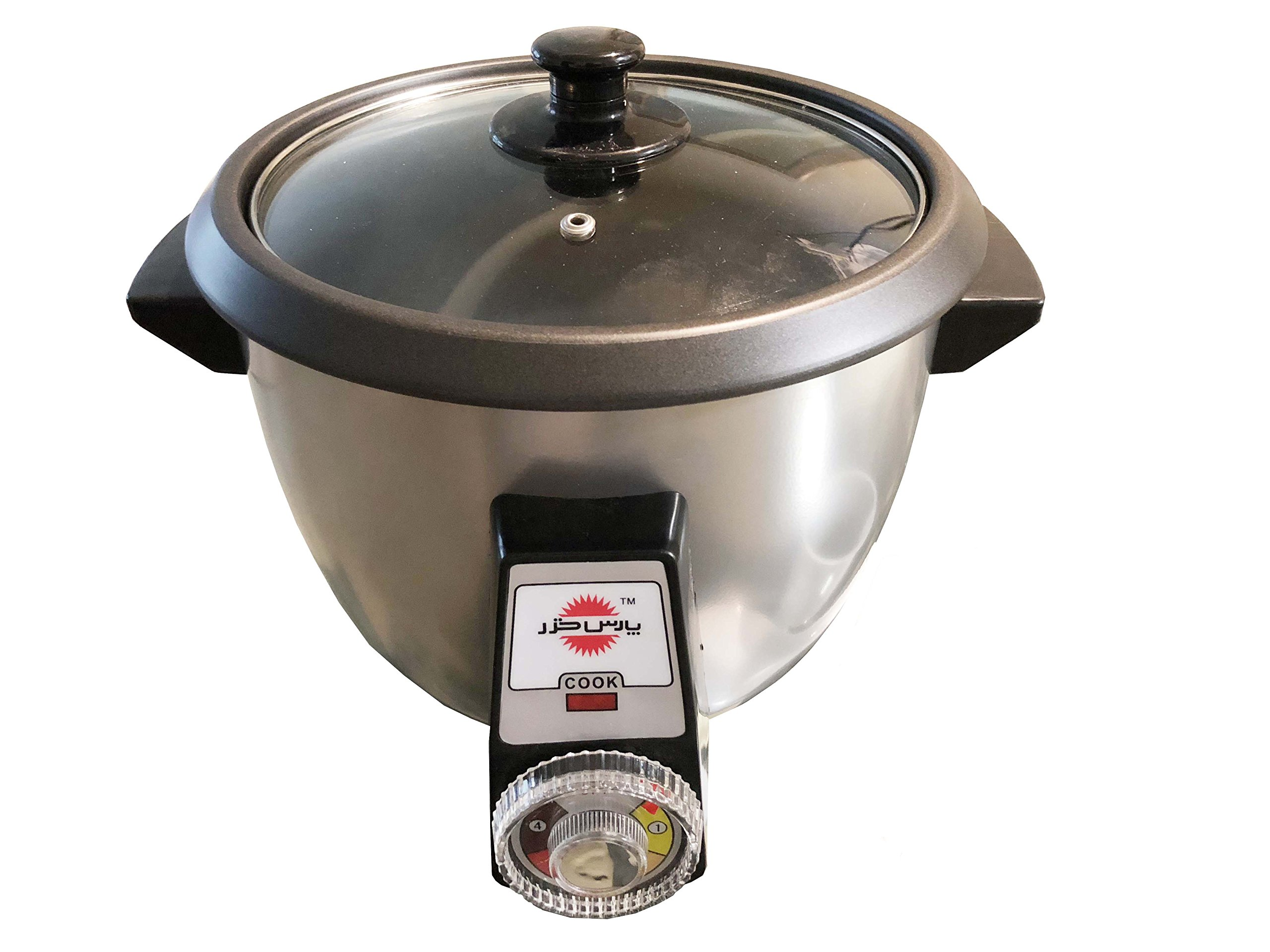 Pars Khazar Full Automatic Rice Cooker, 12 Cups (12 People) by Pars Khazar (Image #2)