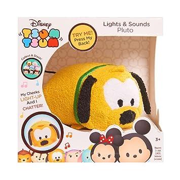 Tsum Tsum Disney Pluto de peluche con luces y sonidos