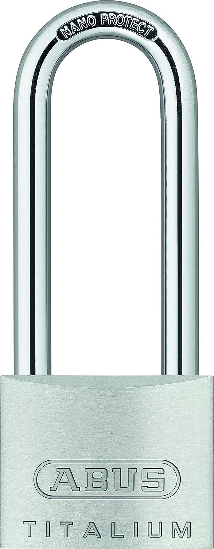 ABUSE 54 TI/40 HB63 56451 Titanium exterior padlock with high handle