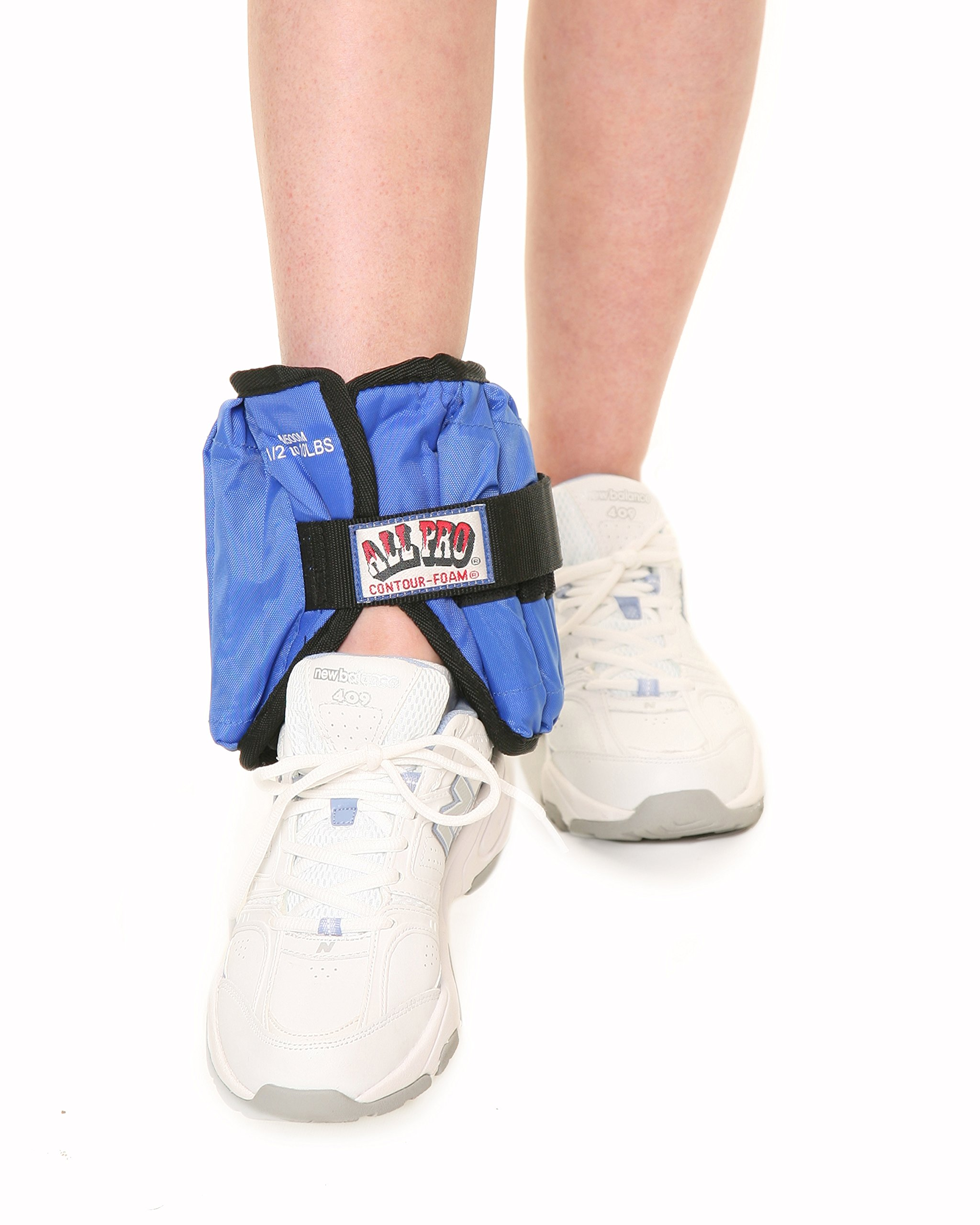All Pro Adjustable Therapeutic Ankle & Wrist Weights - Ankle: 10 lb. = 20, 1/ 2-lb.wts. by Rolyn Prest