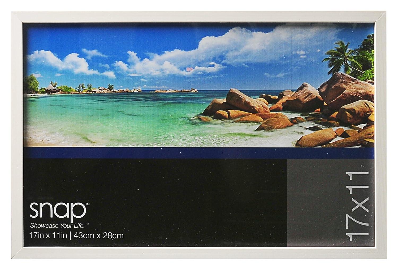 Amazon snap wood frame 11 by 17 inch white home kitchen jeuxipadfo Images