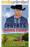 The Cowboy's Convenient Marriage: a contemporary marriage of convenience romance (Montana Ranches Christian Romance Book 4)