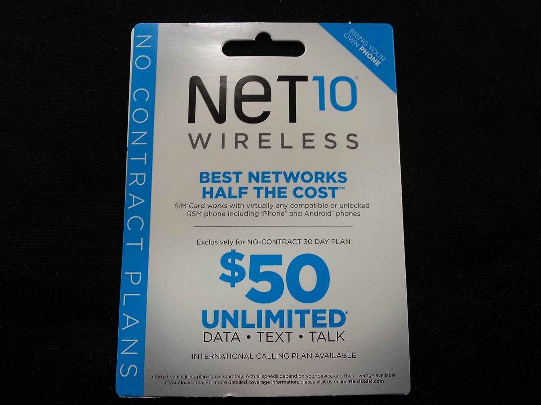 Amazoncom Net Att Compatible Sim Card Electronics Net10 Coverage Map Usa