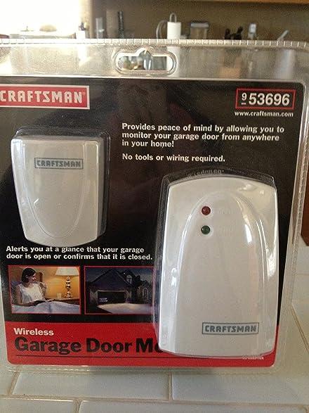 wireless garage door monitorAmazoncom Craftsman Wireless Garage Door Monitor  53696 Home