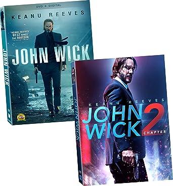 Amazon Com John Wick Movies 1 2 Dvd Keanu Reeves Complete