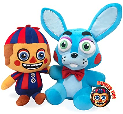 Funko Five Nights at Freddys Balloon Boy and Toy Bonnie Hot Topic Exclusive 6 Inch FNAF