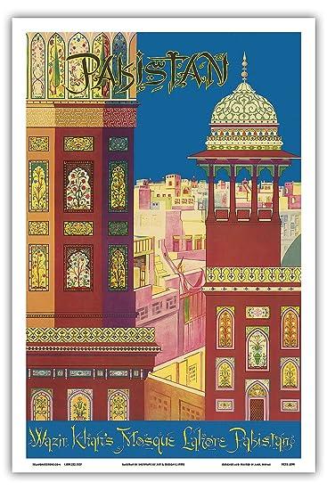 Pakistan - Wazir Khan Moschee - Lahore, Pakistan - Islamische ...