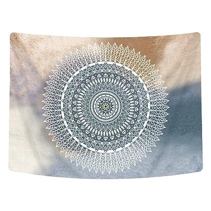 Amazoncom Sunm Boutique India Mandala Tapestry Wall Hanging Wall