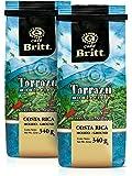 Cafe Britt Tarrazu Montecielo Ground Coffee, 12-Ounce Bags (Pack of 2)