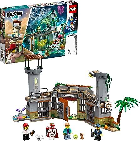 LEGO- Prisión Abandonada de Newbury Hidden Side Aplicación AR, Set de Juego de Realidad Aumentada Multijugador Interactivo para iPhone/Android, Multicolor (70435): Amazon.es: Juguetes y juegos