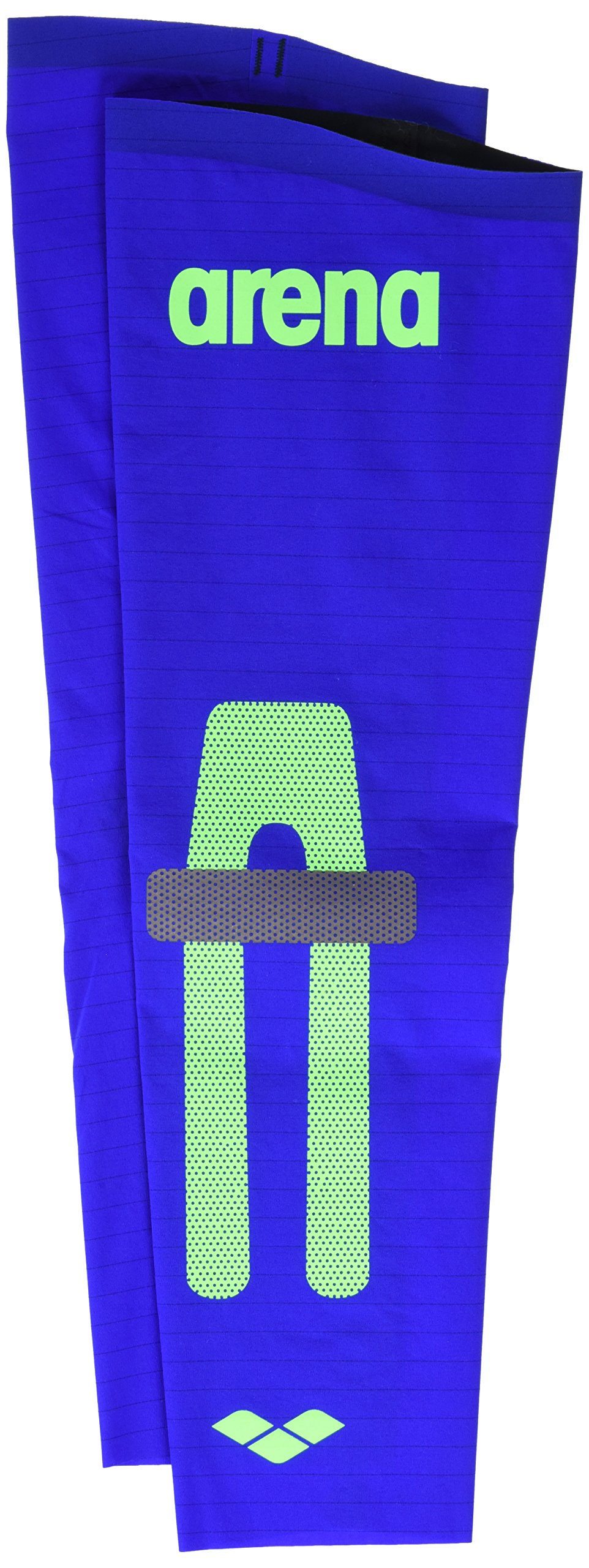 Arena Swim 1D658 Youth Carbon Compression Arm Sleeves, Electric Blue-S