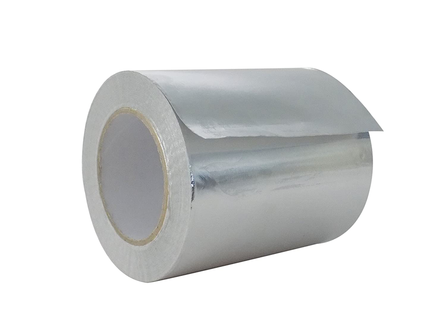 WOD AF-20R Premium Grade General Purpose Heat Shield Resistant Aluminum Foil Tape - Good for HVAC, Air Ducts, Insulation (Available in Multiple Sizes): 6 in. wide x 50 yds.