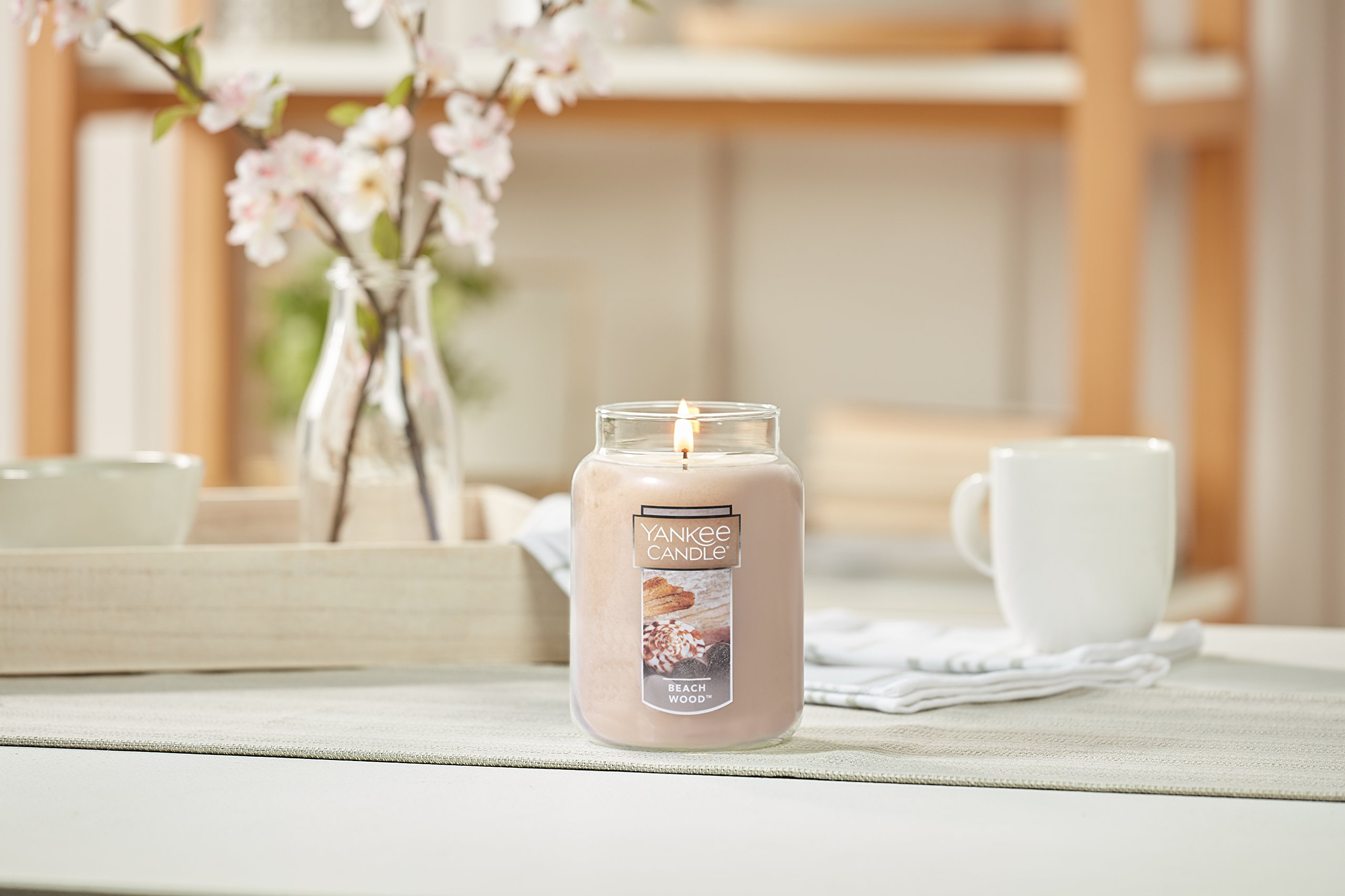 Yankee Candle Large Jar Candle, Beach Wood by Yankee Candle (Image #5)