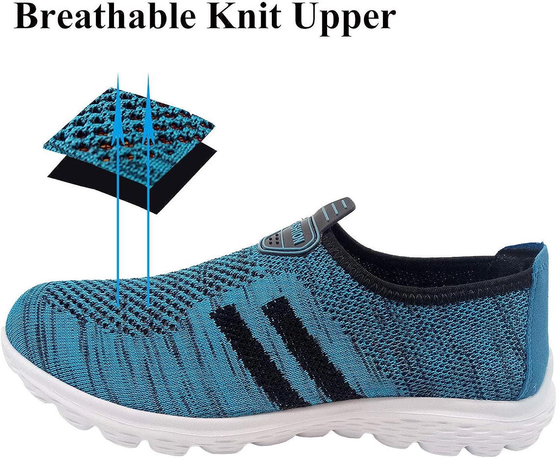 Jiasuqi correr caminar zapatos para hombre deportes moda zapatillas de deporte malla transpirable tenis atl/ético zapatos de carretera