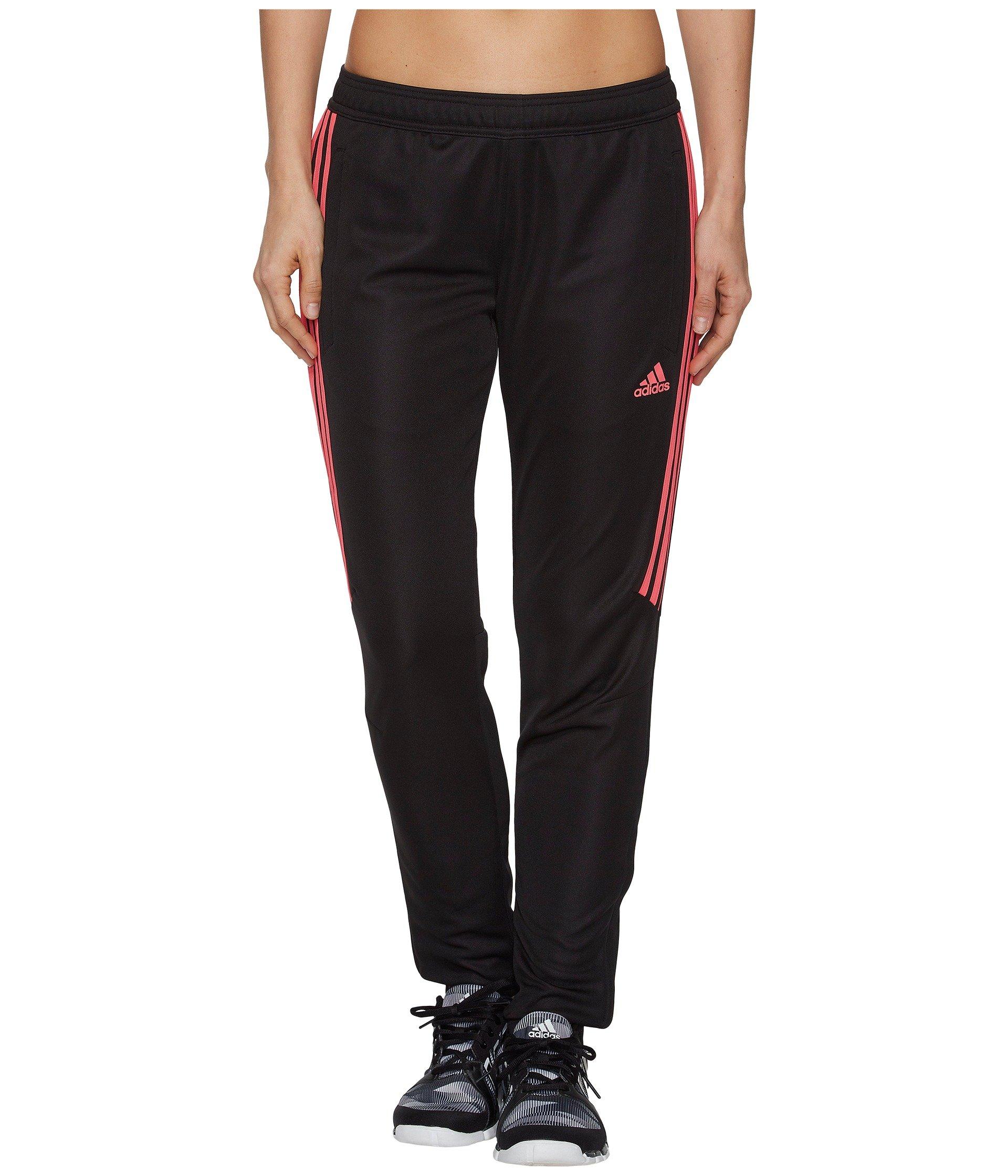 adidas Women's Tiro '17 Pants Black/Real Pink XX-Small 32 32