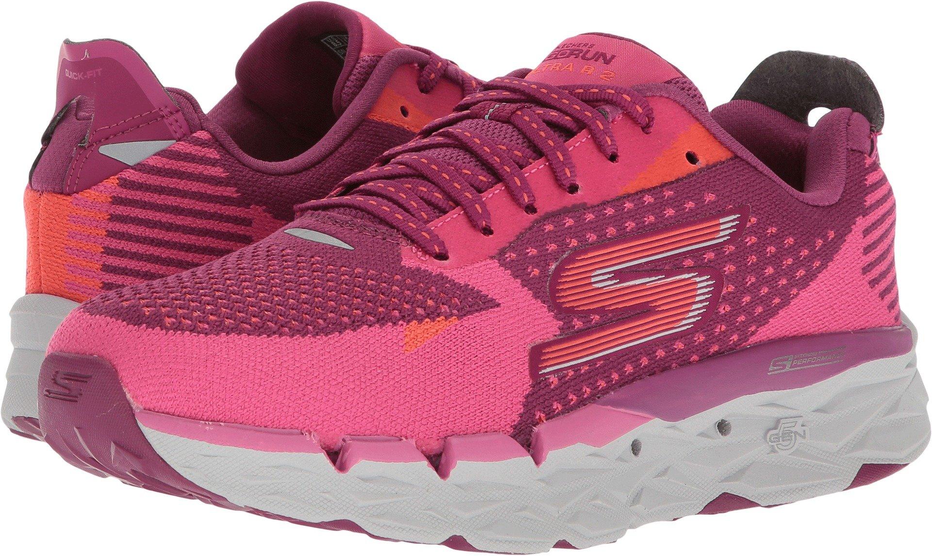 Skechers Women's Go Run Ultra R Purple/Pink 8 B US