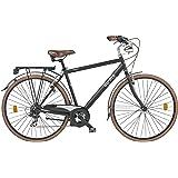 "Cicli Gloria Duomo Bicicletta Trekking 28"", Nero"