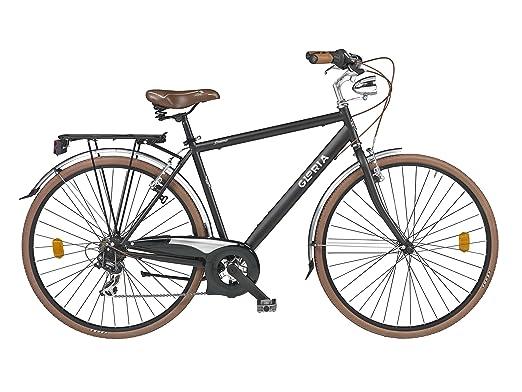 """23 opinioni per Cicli Gloria Duomo Bicicletta Trekking 28"""", Nero"""