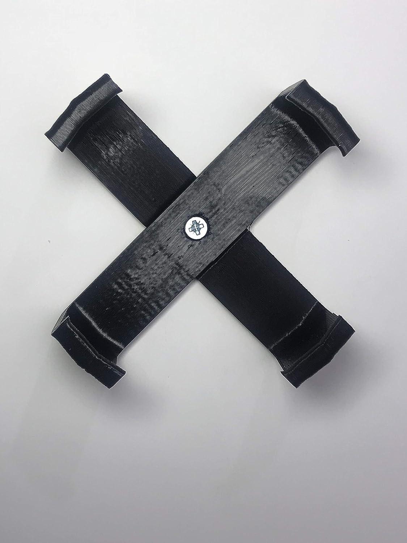 Color Negro Echo Dot Soporte de Pared de 3/ª generaci/ón 4 Patas