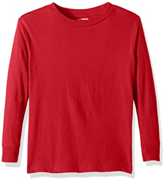 0d1b0adad0e Puma Men's City Long Sleeve Blank Tee, X-Large, Red: Amazon.co.uk: Clothing
