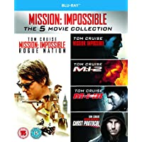 Mission: Impossiblee 1-5 Movie Collection Blu-ray