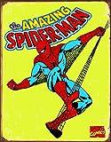 Desperate Enterprises Marvel Comics Tin Signs Retro Spiderman Retro