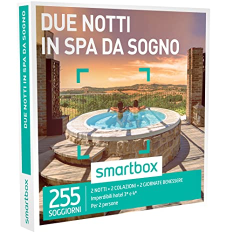 Smartbox Cofanetto Regalo - DUE NOTTI IN SPA DA SOGNO - 255 ...