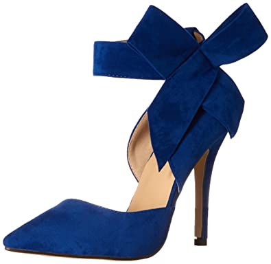 Amazon.com | Yinhan YH Pointy Suede High Heel Women's Shoes With ...