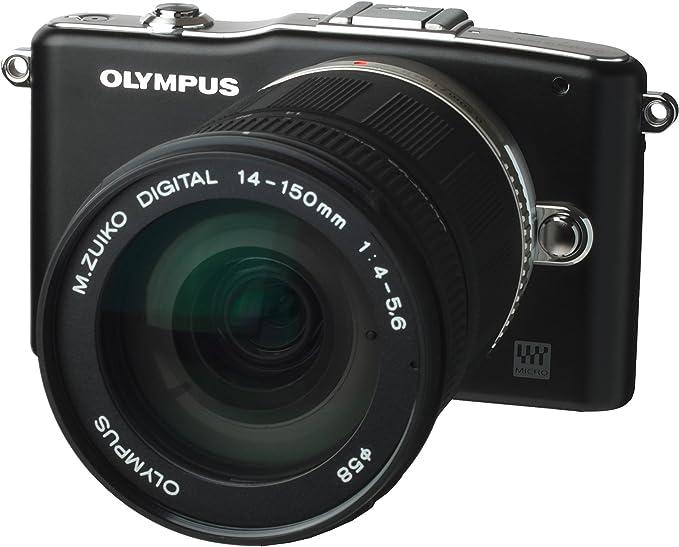 Olympus - Olympus E-PM1 Negra con 14-150mm Negro: Amazon.es ...