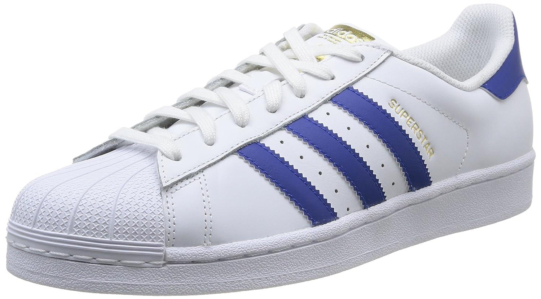 Weiãÿ(Ftwr Weiß Collegiate Royal Ftwr Weiß) adidas Originals Unisex-Erwachsene Superstar Turnschuhe