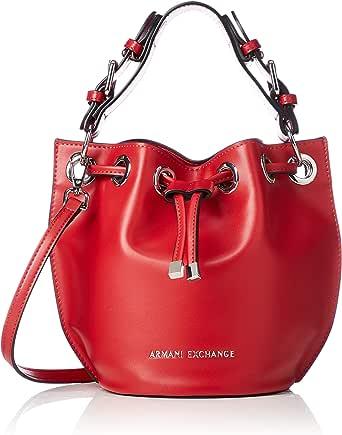 A X Armani Exchange Small Bucket Bag, Moulin Rouge 238