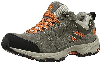 Timberland Translite FTP_Tilton Low GTX - Zapatillas de Trekking y Senderismo de Cuero Mujer, Color Marrón, Talla 38