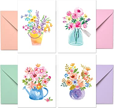 2 Blank Sympathy Note Cards w//Envelopes