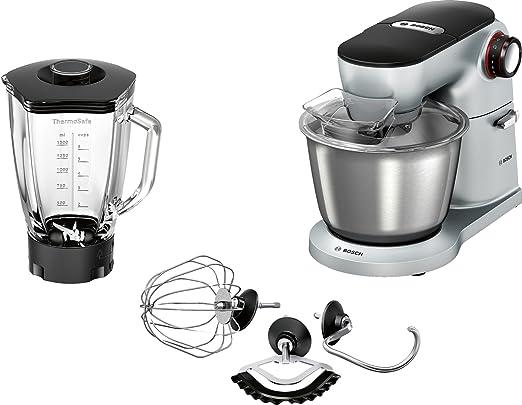 Bosch MUM9Y35S12 - Robot de cocina (5,5 L, Aluminio, Negro ...