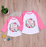 BELS Baby Girl Clothes Floral Long Sleeve Romper