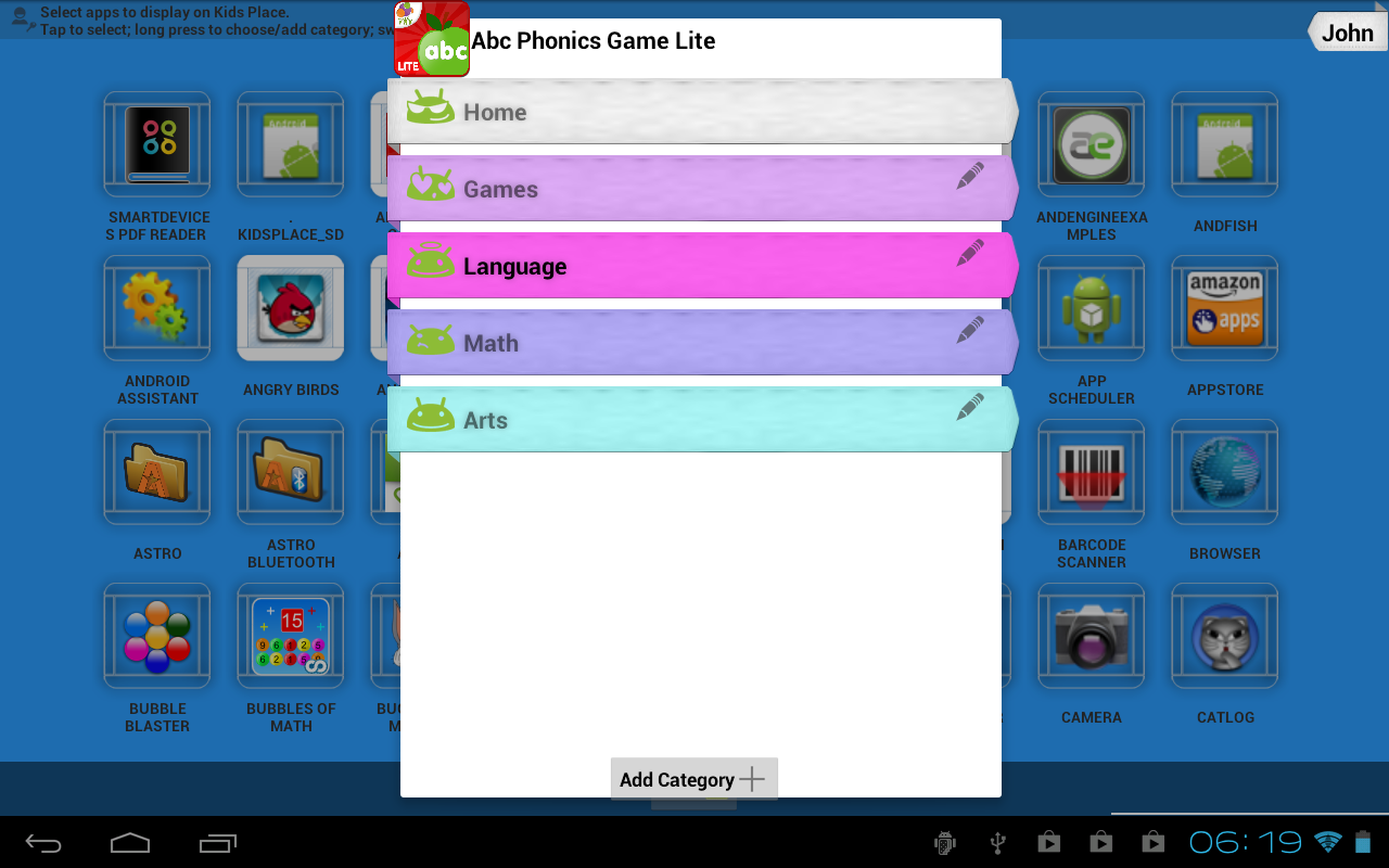 How to put parental controls on galaxy tab