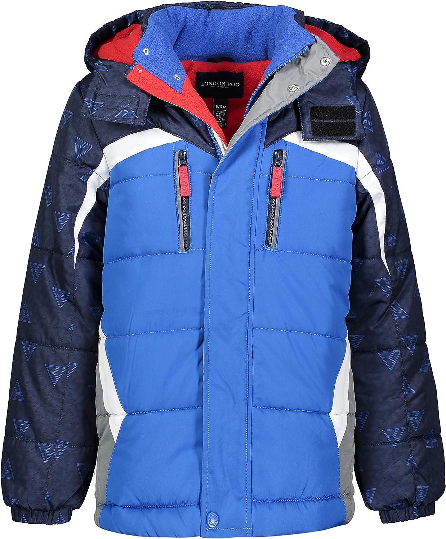 LONDON FOG Boys Big Active Puffer Jacket Winter Coat
