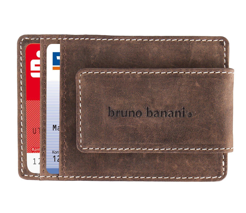 bruno banani Kreditkartenetui Visitentaktenetui Ausweisetui mit Klip 3345